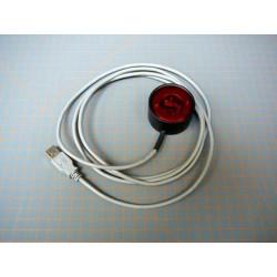 USB/IrDA Cable Inalámbrico para descarga de Datos de Dendrómetros