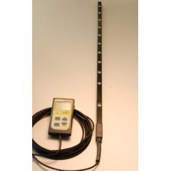 MQ-301 Medidor de mano Apogee para LUZ PAR sobre barra de 70cm con 10 Sensores