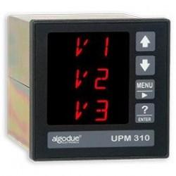 UPM310 Analizador de Potencia DIN 96x96 Conectable a Bobina Rogowski