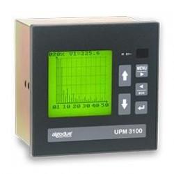 UPM3100 Analizador de Potencia con LCD DIN 144x144
