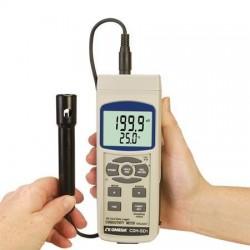 CDH-SD1 Medidor de Conductividad, TDS y Sal con Registrador de Datos