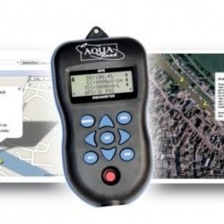 GPS Aquameter Registrador de Datos