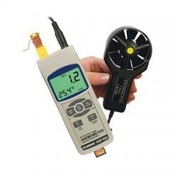 HHF-SD2 Anemómetro de Alambre con Registrador de Datos