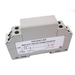 DVT-1000 Transductor de Voltaje 1000 Vdc. Salidas 4-20mA, 0-1Vdc, 0-5Vdc