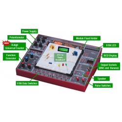 ETS-7000A Sistema de Entrenamiento para Electrónica Analógico/Digital
