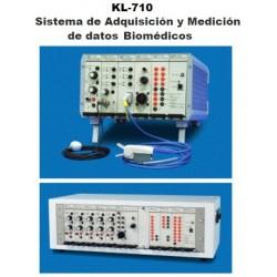 Sistema de Adquisición y Medición de datos Biomédicos