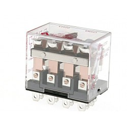 VMD4B-C24A Relés 4PDT para Montaje en Zócalo / DIN