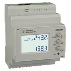 MRJ4M - Medidor Energía Multifunción DIN Easywire - pulso, RS485/Modbus