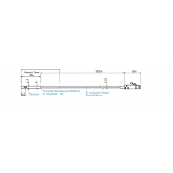 TR-5620 Sensor de temperatura (Sensor ultrafino de alta sensibilidad)