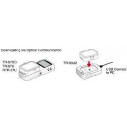 TR-50U2 Porta de comunicação para transferência de dados USB de alta velocidade para PC
