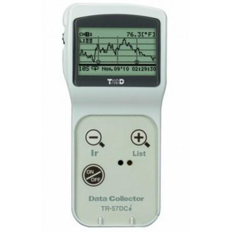 TR-57DCi  Capacitador de datos portátiles con capacidad de comunicación IR para la colección in situ No es necesario PC