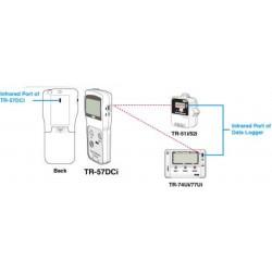 TR-57DCi  Coletor de dados portátil capaz de comunicação via IR para coleção no local Nenhum PC Necessário