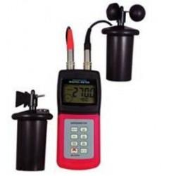 AO-4836AM Medidor Portátil de Velocidad y Dirección del Viento