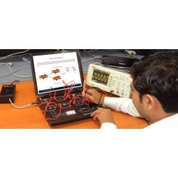 Scientech2312 Techbook para Ultrasonic Transducer treinador
