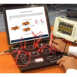 Scientech2312 TechBook for Ultrasonic Transducer Trainer