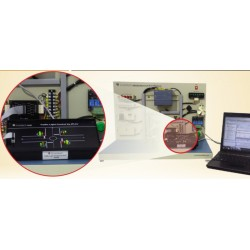 Scientech2423B Traffic Light Control By PLC