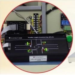 Scientech2423B Tráfego controlador PLC