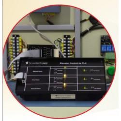 Scientech2422 Elevator Control by PLC