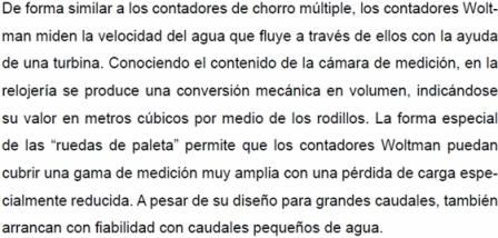 CAUDAL-AGUA/WOLTMAN