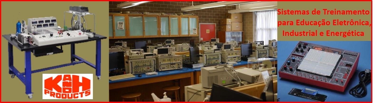 Sistemas de Treinamento para Eletrônicos - Educação, Industrial e Energia
