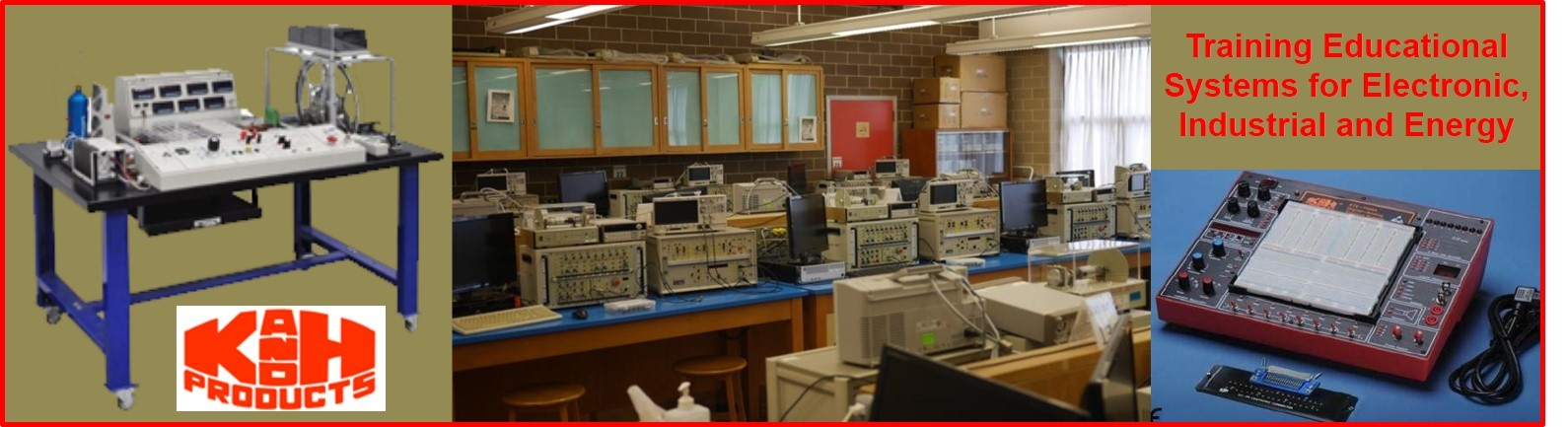 ELECTRONICS, INDUSTRIAL & ENERGY EDUCATIONAL TRAINING SYSTEMS