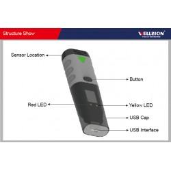 AO-SSN-10 Gravador de Dados de Temperatura de Interface USB (-35 ~ 80 ° C)