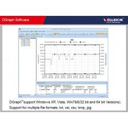 AO-SSN-22 Gravador de Dados de Temperatura de Umidade USB LCD (-35 ~ 80 ºC)