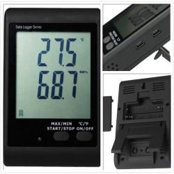 AO-DWL-10 Registrador de Datos de Temperatura de Pantalla LCD
