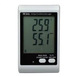 AO-DWL-20 Registrador de Datos de Humedad y Temperatura USB con LCD Grande y Alerta de Luz y Sonido