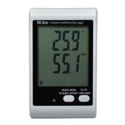 AO-DWL-20 Sound Light Alert Large LCD USB Temperature Humidity Data Logger