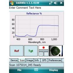 PSR-1100f Espectrómetros y Espectrorradiómetros Portátiles Compactos de Campo Ligero