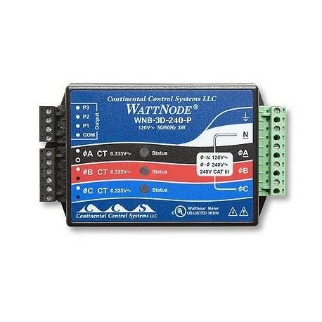 T-WNB-3D-480 Transductor de Potencia  KW/h 3 Fases