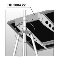 HD2004.22 Pole mount kit