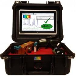 StellarCASE-Raman Analisador Portátil Raman System para ID de Material e Espectroscopia Raman