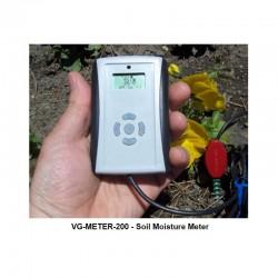 VG-METER-200-USB  Medidor Humedad del Suelo/Luz/Temp Profesional (USB) con sensor VH400 integrado