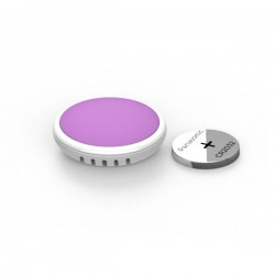 BM-Movement Tempo Disc Bluetooth Sensor de Movimiento y Choque y Registrador