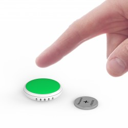 BM-PUSH-BUTTON Registrador de Datos Bluetooth Tempo Disc™ de Botón