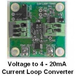 Convertidor de sensor en Voltios a 4-20mA