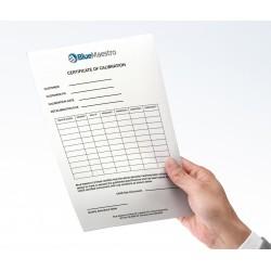 BM-CALIB Certificado de Calibración de Temperatura