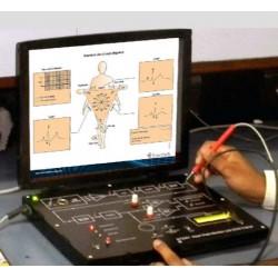 Scientech2351 TechBook para Monitor de Frequência Cardíaca ECG