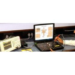Scientech2351 TechBook para Monitor de Frecuencia Cardíaca de ECG
