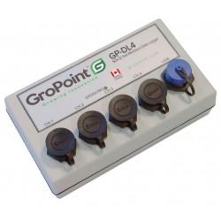 Gravador analógico de dados de umidade do solo GP-DL4 e SDI-12