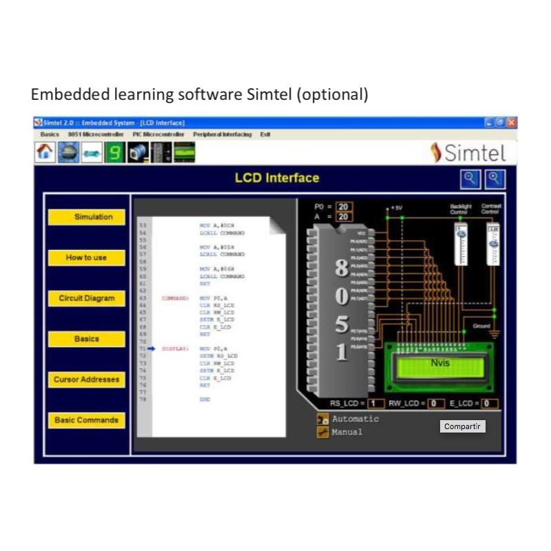 Nvis 5001A Techbook for 8051 Universal Development Platform