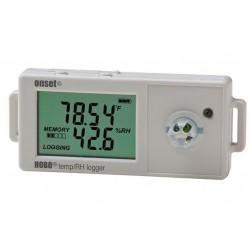 UX100-011A Data Logger HOBO Termohigrometro para Temp/HR 2,5% con sensor interior incorporado