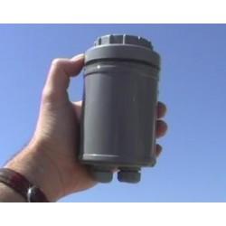 Meteo-Case Caja Intemperie de PVC de 75-90-110-125mmØ para registradores