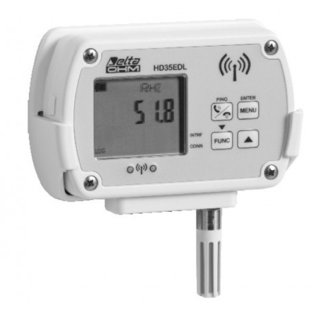 HD35EDL Registrador de Datos Inalámbrico (pantalla LCD opcional)