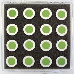 SECA-2.0 Célula de Botão de Eletrodo Único - Ânodo somente (20mm & 25mm)