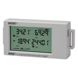 UX120-014M HOBO 16-bit 4-channel Thermocouple Logger