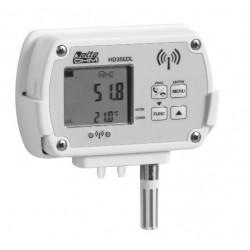 HD 35ED 1N4r… TV Registrador de dados sem fio para Temperatura, Umidade e Pressão Diferencial