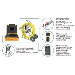 AO-916CDJKN-C50PT Cámara de Inspección de Desagües y Tuberías